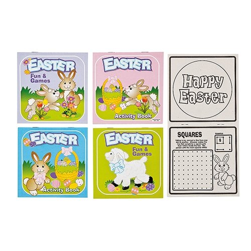 Easter Activity Book - 12 per pack peppa pig happy easter sticker activity book