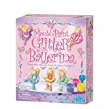 Mould and Paint your very own ballerinas, the pack comes with a single mould with six different designs of ballerinas and materials to make six magnets or badges. Mix the plaster and pour into the moulds, it may take some time to set. Once dr...