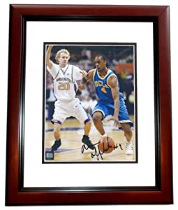 Arron Afflalo Autographed Hand Signed UCLA Bruins 8x10 Photo - MAHOGANY CUSTOM FRAME... by Real Deal Memorabilia