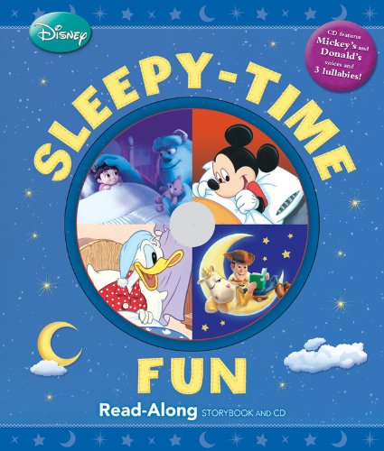 Sleepy-Time Fun [With Hardcover Book(s)] (A Disney Read Along Storybook)