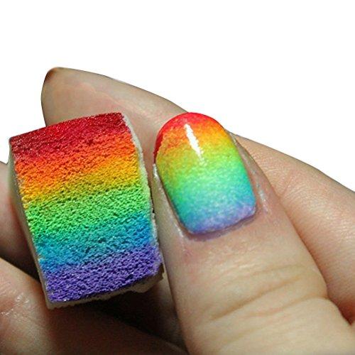 vorcool-12pz-gradiente-unghie-spugne-per-manicure-colore-fai-da-te-bianco