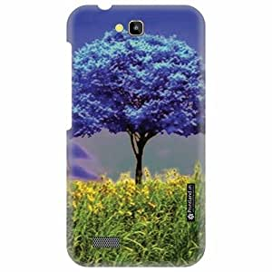 Printland Designer Back Cover for Honor Holly Hol-U19 - Blued Case Cover