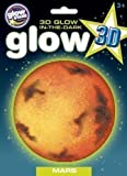 Glow Stars Kids Activity Toy Gift Night Glow 3d Planets Mars Educational Sticker