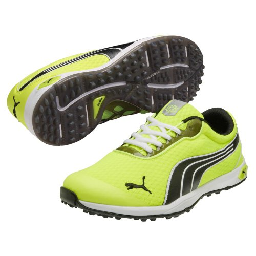 137bd70e8cab and also read review customer opinions just before buy NEW Puma BioFusion  Spikeless Mesh Yellow Black White Golf Shoes Mens Size 11 5.