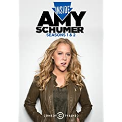 INSIDE AMY SCHUMER: Seasons 1 and 2 coming to DVD on April 7th from Comedy Central