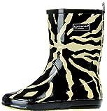 [ポーターポーター]PorterPoter レインブーツ レインシューズ 雨靴 長靴 ゼブラ 迷彩 ブラック 35 (22.5cm)