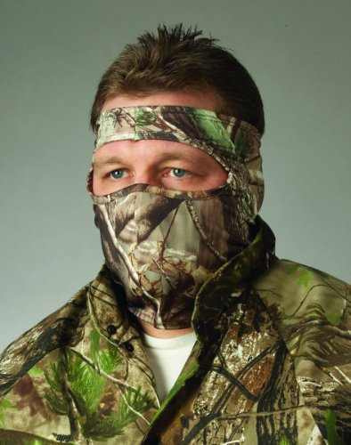 Hunters Specialties Camo Spandex 3/4 Face Mask