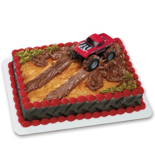 Monster Truck DecoSet Cake Decoration