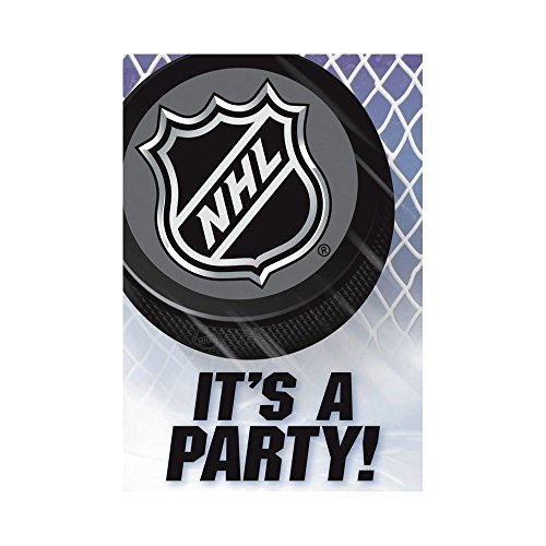 NHL Ice Time Invitations and Thank You Notes 16 Pack