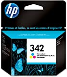 HP 342 Cartouche d'encre d'origine Cyan Magenta Jaune