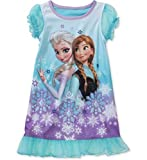 Disney Frozen Toddler Girl Anna and Elsa Nightgown (18M)