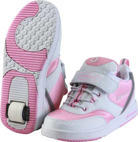 Baskets Skate JD RAZOR SKATE SNEAKERS Rose 24 cm JK-601