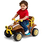 Disney Kid Trax Boys Disney Junior Jake And The Never Land Pirates 6 V Quad Ride On