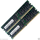 4GB 2x2GB Server RAM PC2-3200R DDR2 400MHz CL3 240Pin ECC Registered HP Dell IBM