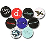 (ダイヤモンドサプライ)Diamond supply ピンバッジ 9点セット バッジ Button Pack