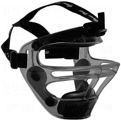 Markwort Game Face Sports Safety Mask Large Smoke