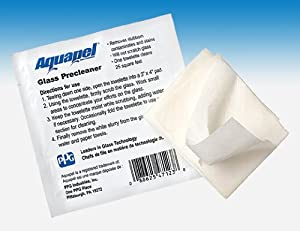 Aquapel Pre-Cleaner Towelette Glass Surface Cleaner 1-EA PGW from Pittsburgh Glass Words