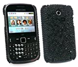FLASH SUPERSTORE SAMSUNG CHAT CH@T 335 (S3350) DIAMANTE HARD BACK COVER BLACK