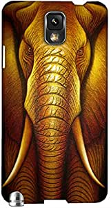 Timpax protective Armor Hard Bumper Back Case Cover. Multicolor printed on 3 Dimensional case with latest & finest graphic design art. Compatible with Samsung Galaxy Note 3 / N9000 Design No : TDZ-26941