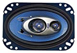 Pyle PL463BL 4-Inch x 6-Inch 240-Watt Three-Way Speakers