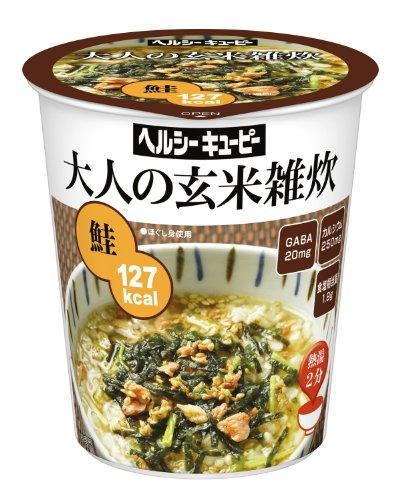 【Amazonの商品情報へ】ヘルシーキューピー 大人の玄米雑炊 鮭 (1食 127kcal)×6個