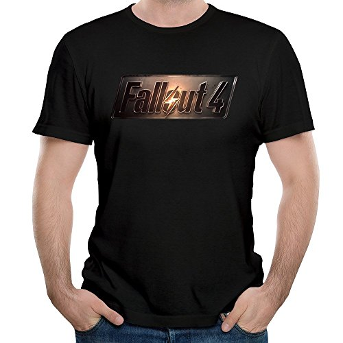 Mens Fall Out-4 Console Commands Trailer Tee Shirt (Tangled Trailer compare prices)