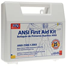 First Aid Only 25 Person Bulk First Aid Kit, Ansi, 110-Piece Kit