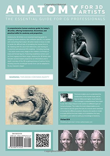 anatomy for 3d artists pdf