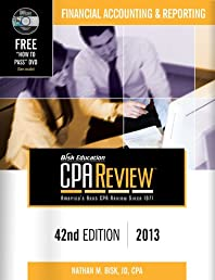 Bisk CPA Review: Financial Accounting & Reporting - 42nd Edition 2013 (Comprehensive CPA Exam Review Financial Accounting & Reporting) (Cpa ... ... and Reporting Business Enterprises)
