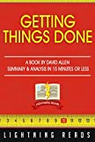 img - for Getting Things Done A Book by David Allen | Summary & Analysis in 15 minutes or less book / textbook / text book
