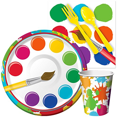 Art Party Supplies - Snack Party Pack