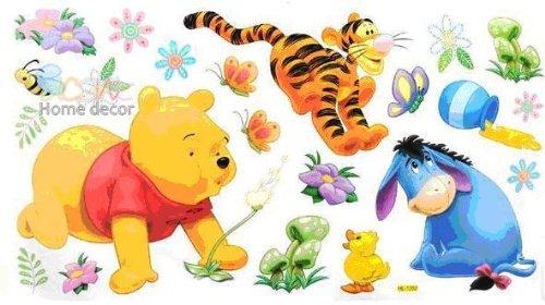 Kinderzimmer Wandtattoo Hl1202 Winnie The Pooh Tigger Ferkel