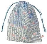フレッシュパンチ巾着大ブルー