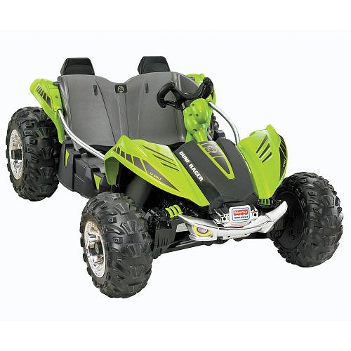 Power Wheels RideOn Dune Racer Green