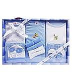 #9: Wonderkids 13 Piece Baby Gift Set Blue
