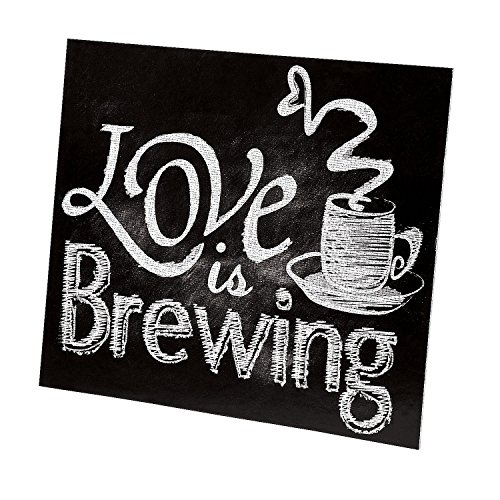 Fun Express 13676386 12 X 10.50 in. Cardboard Love Is Brewing Tabletop Sign (Tabletop Love Sign compare prices)