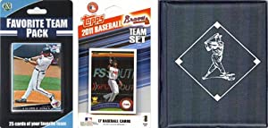 MLB Atlanta Braves Licensed 2011 Topps Team Set and Favorite Player Trading Cards... by C&I Collectables