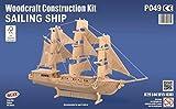 Segelschiff-QUAY-Holzkonstruktion-Kit-FSC