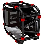 InWin D-Frame Mini Black Motorcycle Steel Tube Mini- ITX Computer case (Color: Black)
