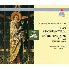 """Cantata No.58 Ach Gott, wie manches Herzeleid BWV58 : I Aria - """"Ach Gott, wie manches Herzeleid - Nur Geduld, Geduld, mein Herze"""" [Boy Soprano, Bass]"""