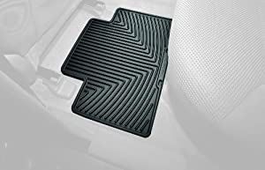 WeatherTech All-Weather Trim to Fit Rear Rubber Mats for Toyota Tacoma Crew Cab, Grey
