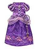 Disney licensed Musical Princess Rapunzel Tangled fancy dress 7-8yrs with Headband Braid. Made by 'George'