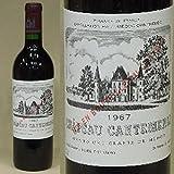 シャトー・カントメルル [1967] 蔵出し 赤ワイン/辛口/フルボディ [730ml]