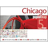 Chicago Popout Map: 5 Maps