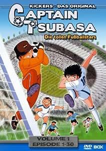 Captain Tsubasa: Die tollen Fußballstars - Vol. 1, Episoden 1-30 (6 DVDs)