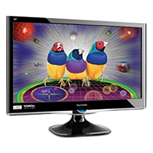 ViewSonic VX2250WM-LED 22-Inch (21.5-Inch Vis) Widescreen Full HD 1080p LED Monitor