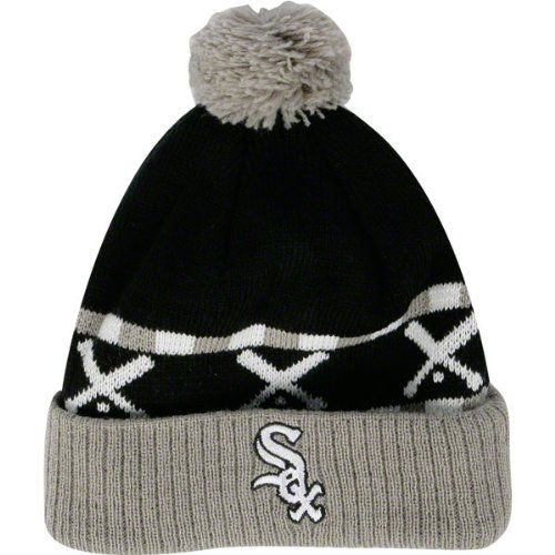MLB White Sox Toddler Rameses Knit Beanie at Amazon.com