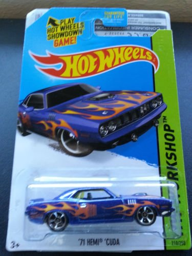 Hot Wheels '71 Hemi Cuda - New Release for 2015! - 1