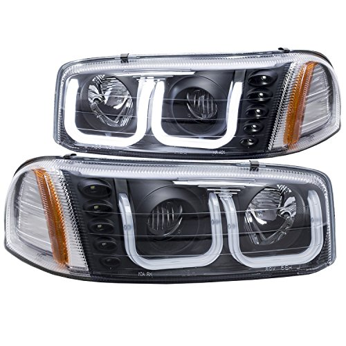 AnzoUSA 111303 Projector Headlight Set (05 Sierra Headlight Assembly compare prices)