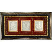 Mahajewel Silver-Plated Ganpati And Lakshmi Photo Frame (20 Cm X 15 Cm X 2 Cm, MJ21)